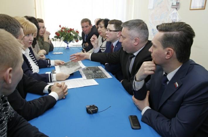 В Северодвинске открылась общественная приёмная Елены Вторыгиной